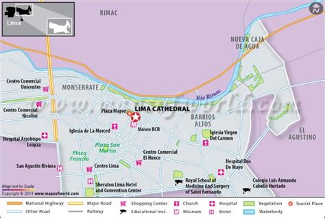 where is lima peru located on a world map cathedral of lima catedral de lima peru facts and