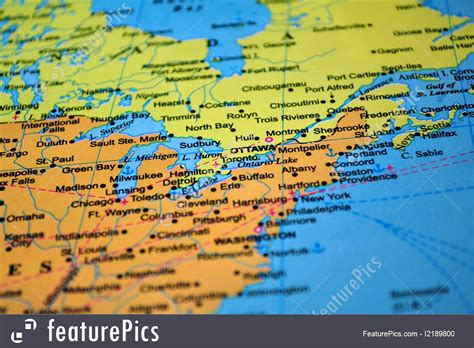 map of usa and map usa and canada border all world maps