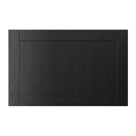 Hanviken Door Drawer Front Black Brown Ikea Ikea Door Fronts