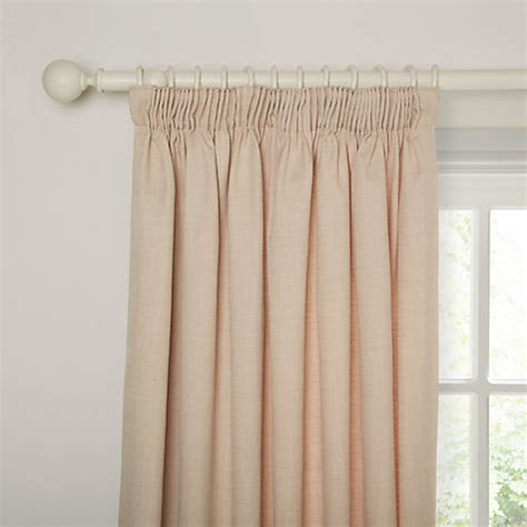 john lewis curtains pencil pleat john lewis barathea lined pencil pleat curtains natural