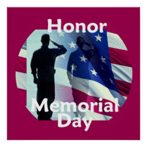 printable remembrance day poster memorial day posters zazzle