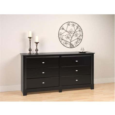 Prepac 6 Drawer Dresser by Prepac Kallisto Series 6 Drawer Dresser Black Bdbr 0360 2k