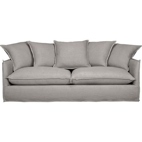 crate and barrel sofa slipcovers oasis sofa in sofas crate and barrel for the home