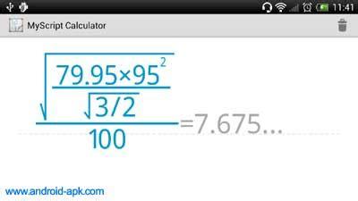 myscript calculator apk myscript calculator 手寫計算機 android apk