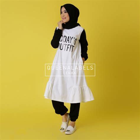 Celana Joger Katun By Huga Fashion gamis bahan kaos gaul gamis murahan