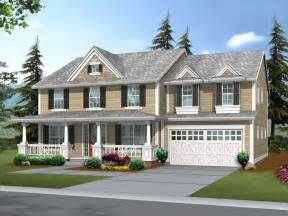 front porches on colonial homes suson oak colonial home plan 071d 0148 house plans and more