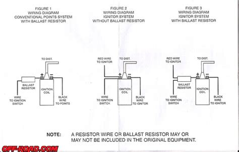 ballast resistor vs resistor wire ignition with ballast resistor wiring diagram get free image about wiring diagram
