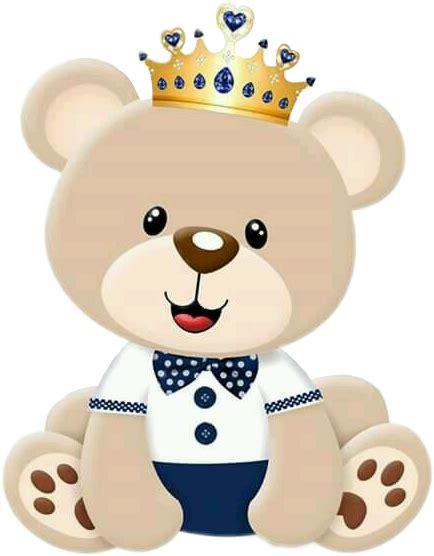 imagenes png de ositos babyboy cute ursinho ursoprincipe urso fofo fofolindo
