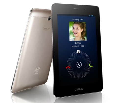 Tablet Android 7 Inchi Asus Fonepad 7 asus announces the fonepad a 7 inch tablet featuring an intel atom processor with 3g data and