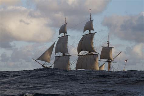 hermione bateau trajet retour de l hermione long trajet pour aventure hors du