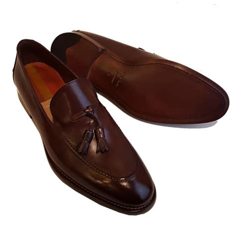paul smith loafers paul smith haring brown leather tasseled loafers srxc s016 par