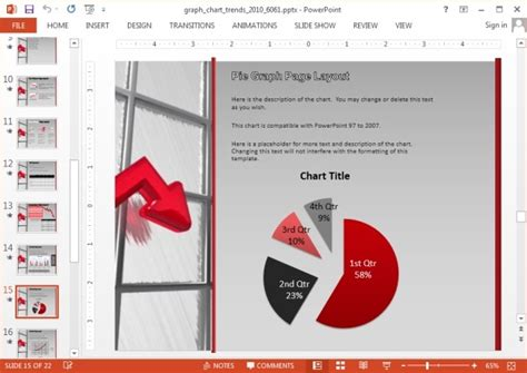 powerpoint graph templates animated graph template for powerpoint
