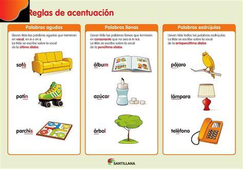 imagenes palabras agudas aprende con hannes el acento en las palabras