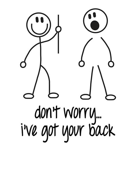 ti got ur back quot i got your back quot stickers by wickedcool redbubble