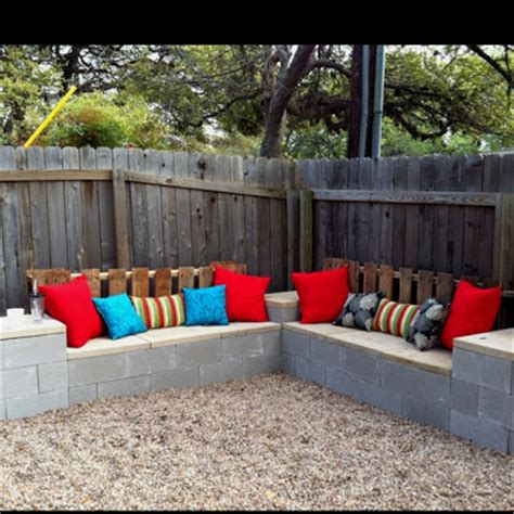 cinder block couch pinspirational projects outdoor sectional plans