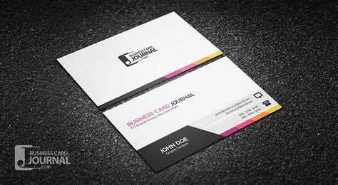 Modern Business Cards Template by 75 Free Business Card Templates That Are Stunning Beautiful