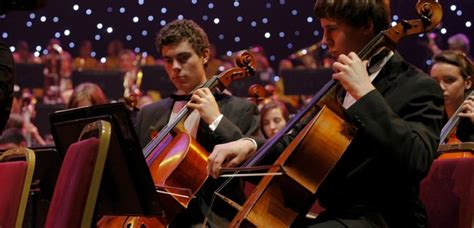 string section orchestra greater gwent youth string ensemble at the schools prom