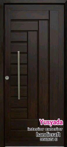 warna cat kusen  pintu rumah minimalis ide perpaduan