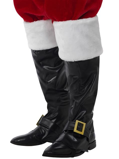 santa boots adults deluxe santa claus boot covers mens