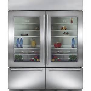 Sub Zero Refrigerator With Glass Door Subzero Bi 30ug S Ph 30 Quot Stainless Steel Built In Glass Door And Refrigerator Pro Handle