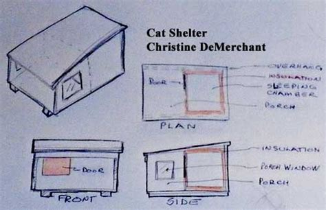 insulated cat house plans how to build a feral cat shelter or a outside cat house