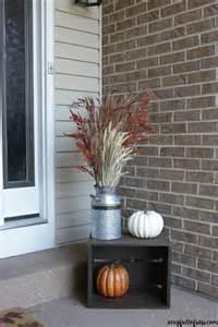 Hobby Lobby Fall Decorations - fall porch decor ideas a cup full of sass
