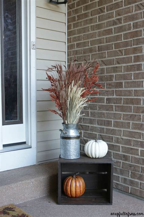 porch decor fall porch decor ideas a cup of sass