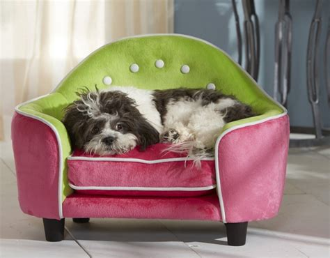 small dog r for couch pink and green pet sofa super cute pet bed for your