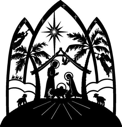 christian christmas clipart free clipart best