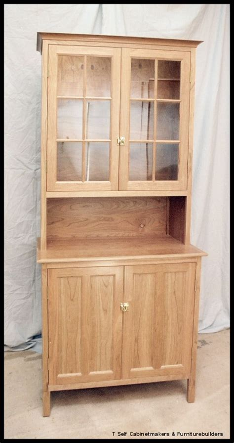 cherry kitchen utility cabinet