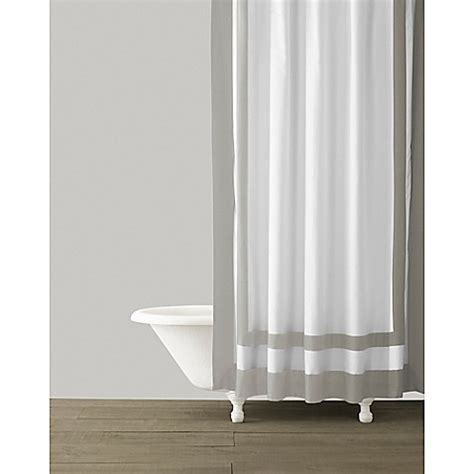 kassatex shower curtain kassatex edge frame shower curtain bed bath beyond