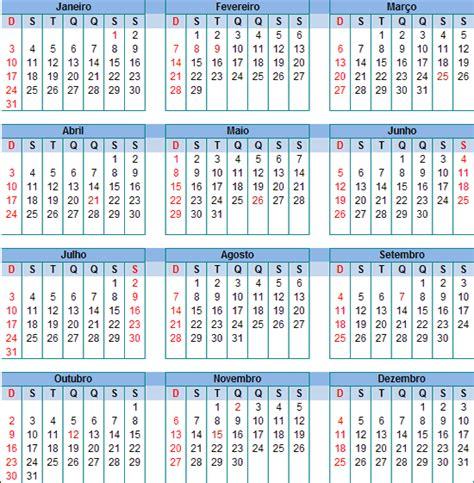 Calendario De 2016 Calend 225 2016