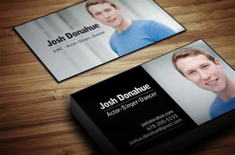 business card templates for actors 19 best actor business cards templates images on