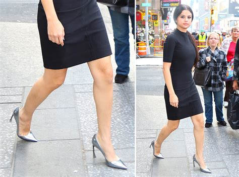 selena gomez s shoe game has been pushing the envelope