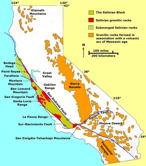 california tectonic plate map formation of the san andreas fault usgs