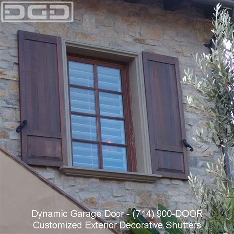 Door Shutters Exterior Decorative Exterior Window Trim Architectural Exterior Shutter By Dynamic Garage Door