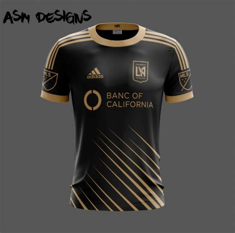 los angeles fc adidas 2018 home kit