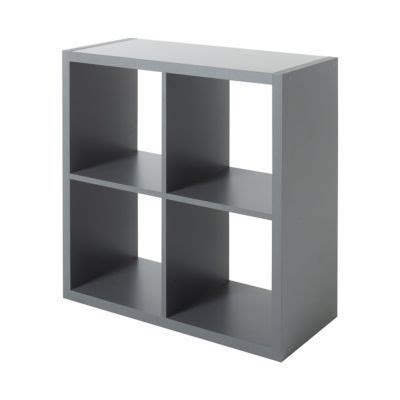 etagere 9 cases castorama 201 tag 232 re modulable 4 cases coloris gris mixxit castorama