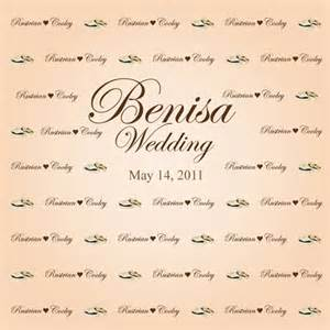 wedding backdrop name wedding themes and designs step and repeat la