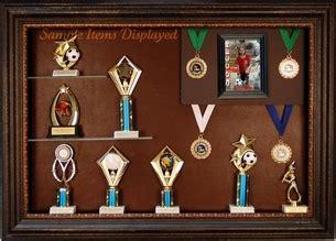 trophy awards display case