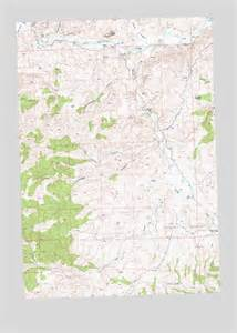 Painted Hills Oregon Map by Painted Hills Or Topographic Map Topoquest