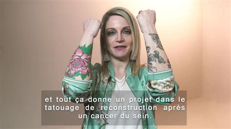 teaser alexia cancer du sein tattoo 3d youtube