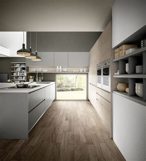 maniglie per cucine componibili cucina componibile con maniglie integrate wega by arredo 3