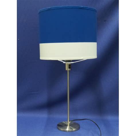 blue l shade ikea ikea rodd chrome table l w blue and white shade