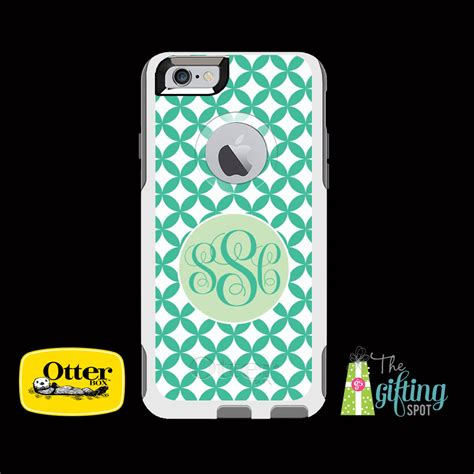 monogrammed phone cases monogrammed otterbox commuter cell phone by thegiftingspot