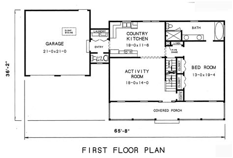 1st Floor Plan House | cape cod house plan with 3 bedrooms and 2 5 baths plan 3569