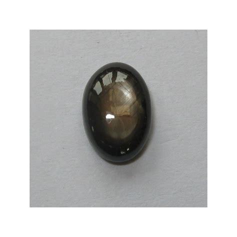 Black Sapphire 2 batu black safir 2 80 carat oval cabochon 6