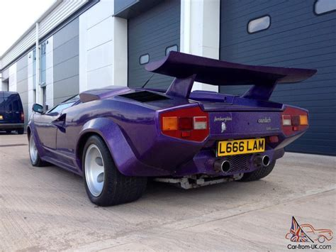 Kit Car Manufacturers Lamborghini Lamborghini Countach Prova Sport Kit Car Replica Correctly