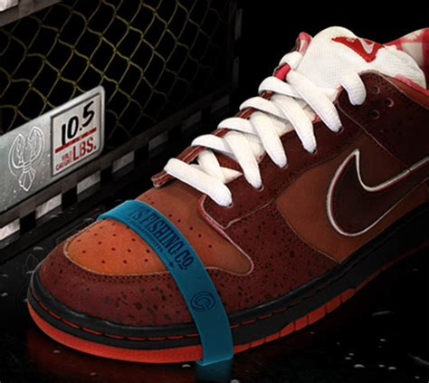 lobster rubber st nike sb dunk low concepts lobster sneakerfiles