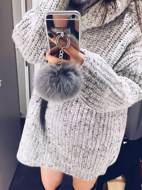 Op4536 For Iphone 6 6s Fashion Pom Pom Velvet Beludru Kode Bi 1 plush pom pom mirror surface iphone 5s 6 6s 7 chain fur and caign